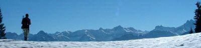 Allgaeuer Alpen Panorama