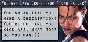 Der Engel ist Lara Croft :-)